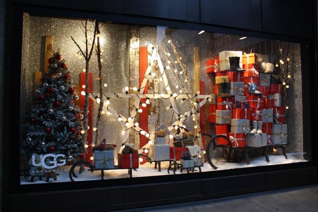 Особенности новогоднего оформления магазина