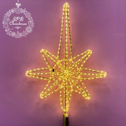 Верхушка на елку «Вифлеемская звезда» (50см, для елей от 3 до 5м)